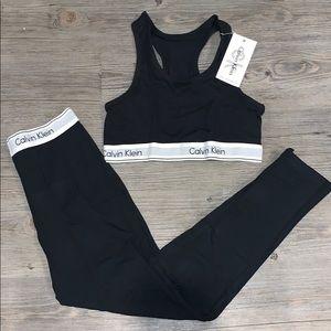 Calvin Klein Yoga Set